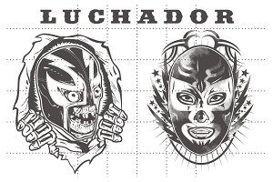 LUCHADOR PACK #2