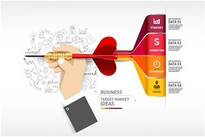 Business Target Marketing Template.