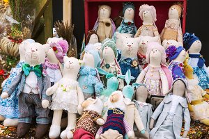 Stuffed handmade toys for sale