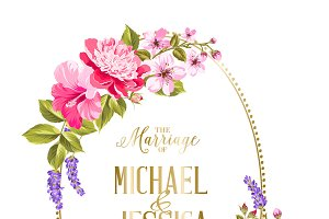 The marriage card.