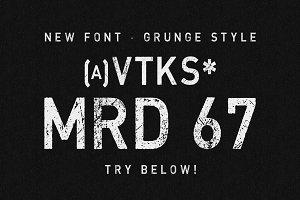 MRD 67 Vtks Font