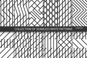Geometric seamless creative patterns