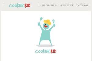 Cooking Kid Logo