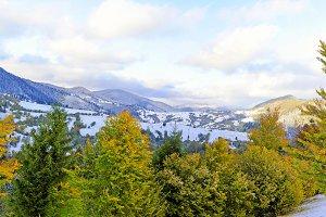 Winter lansdscape