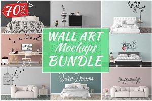 Wall Art Mockups BUNDLE V30