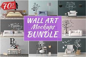 Wall Art Mockups BUNDLE V31