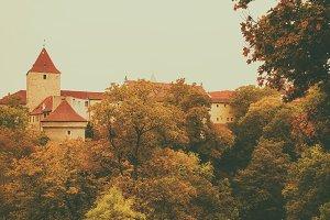 Prague Castle, old city