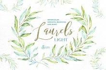 Laurels Light. Floral collection.
