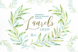 Laurels Light. Floral collection.