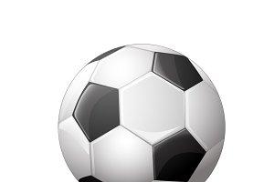 Soccer ball, football icon
