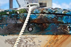 Weathered Boat Bow