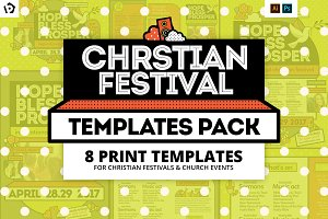 Christian Festival Templates Pack