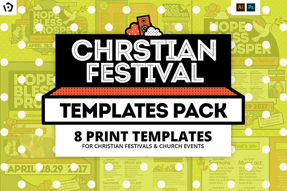 Christian Festival Template-Graphicriver中文最全的素材分享平台