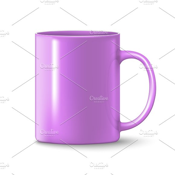 Photorealistic Pink Cup