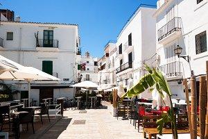 White streets Ibiza