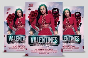 Valentines Love Affair Flyer