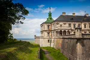 beautiful ancient castle