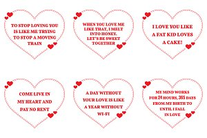 Nine Love Quotes. Set 25/26