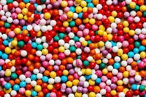 Colorful sweet background