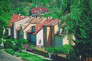Czech village street