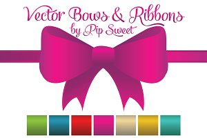 Vector Bows & Ribbons