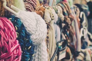Scarves and shawles