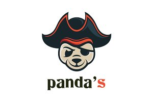 Panda Pirate Logo