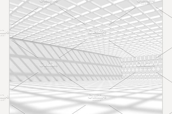 Big Hall 3D Rendering