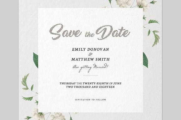 save the date invitation template invitation templates creative