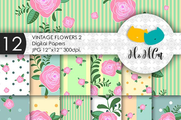 Vintage Flowers Patterns