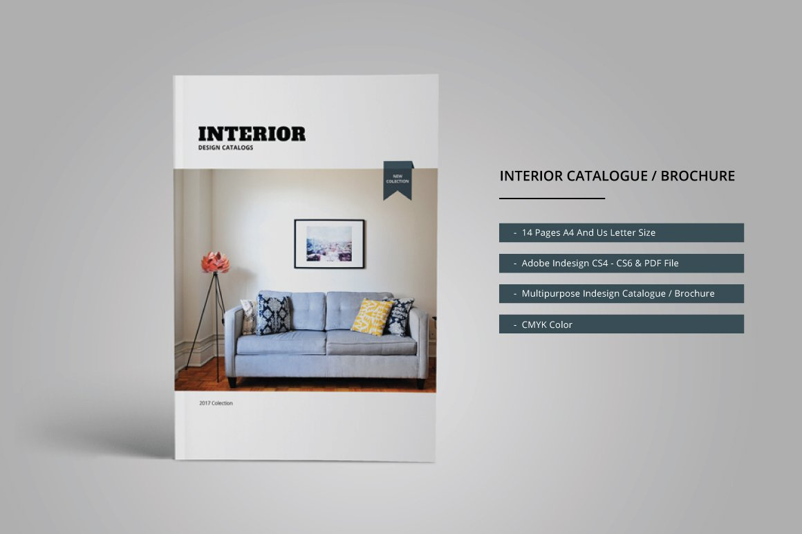 Interior catalogue brochure brochure templates for Interior designs catalogue