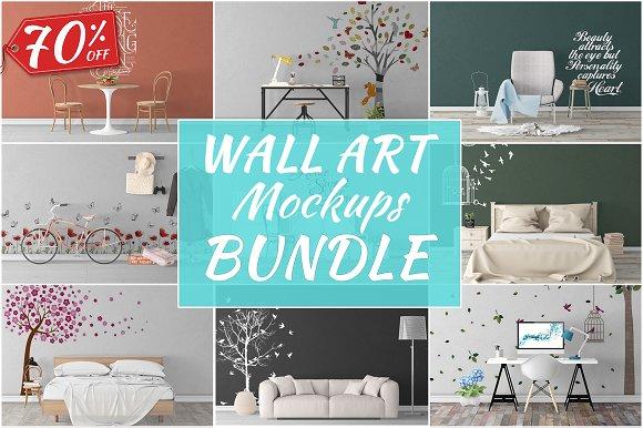 Wall Art Mockups BUNDLE V33