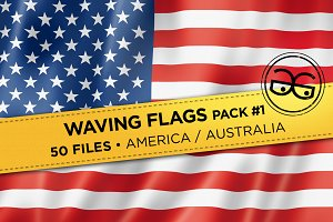 Waving Flags Pack #1