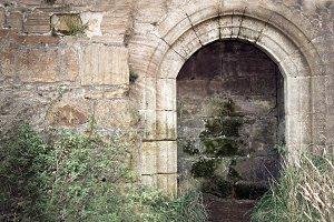Old historical portal.
