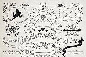 Separate Romantic Design Elements