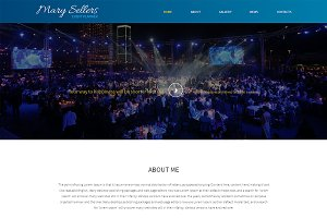 Marry Sellers One Page Theme