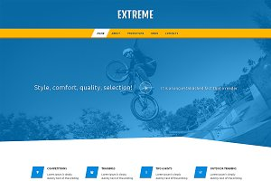 Extreme Responsive One Page Theme