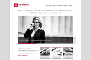 The Practice - Lawyer WP Theme