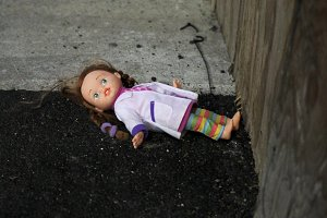 abandoned little doll