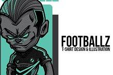 Footballz Illustration