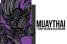 Muaythai Illustration