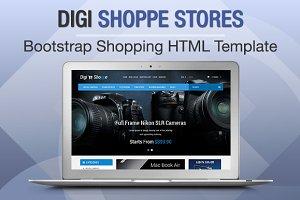 Digi Shoppe Stores Bootstrap