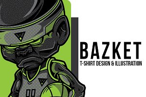 Bazket Illustraion