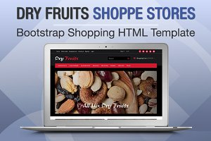 Dry Fruits Shoppe Stores Bootstrap