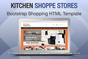Kitchen Shoppe Stores Bootstrap
