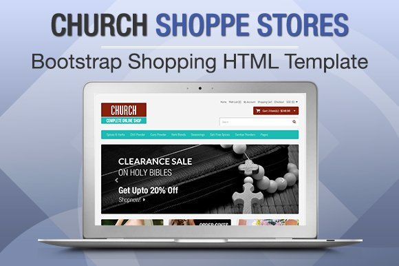 Church Shoppe Stores Bootstrap