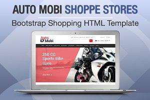 Auto Mobi Shoppe Stores Bootstrap