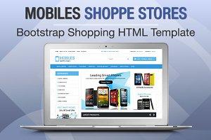 Mobiles Shoppe Stores Bootstrap