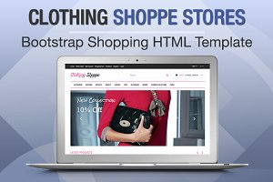 Clothing Shoppe Stores Bootstrap
