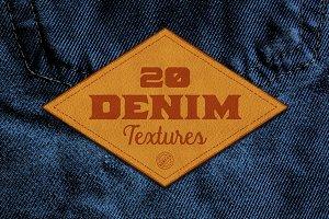 20 Denim Textures